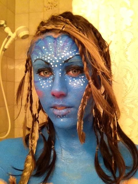 avatar makeup by kaylainuzuka67
