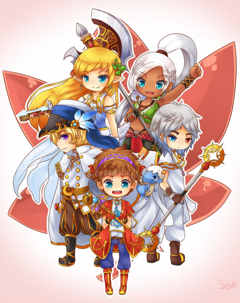 Maple Heroes by SeaStaar