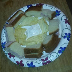 The circle of sandwich