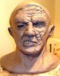 Jason Mask sculpture