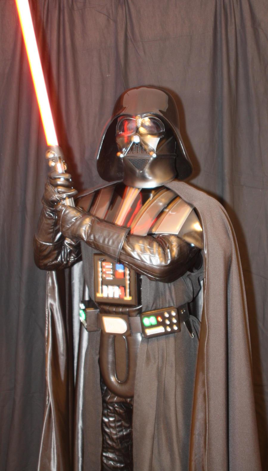 ESB Darth Vader Costume with saber 2