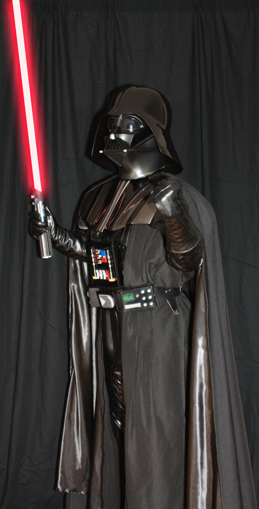 ESB Darth Vader Costume with saber 3