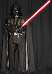 ESB Darth Vader Costume with saber 4