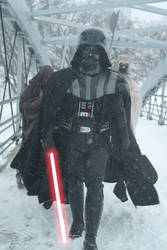 Vader on Hoth or is this Chicago?