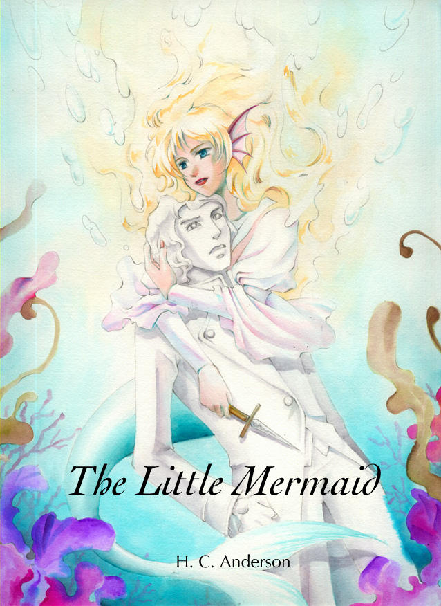 the little mermaid cover by bsf on deviantart