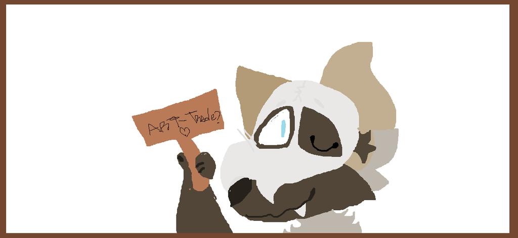 Roxi wants to make art-trades!! by djmorita