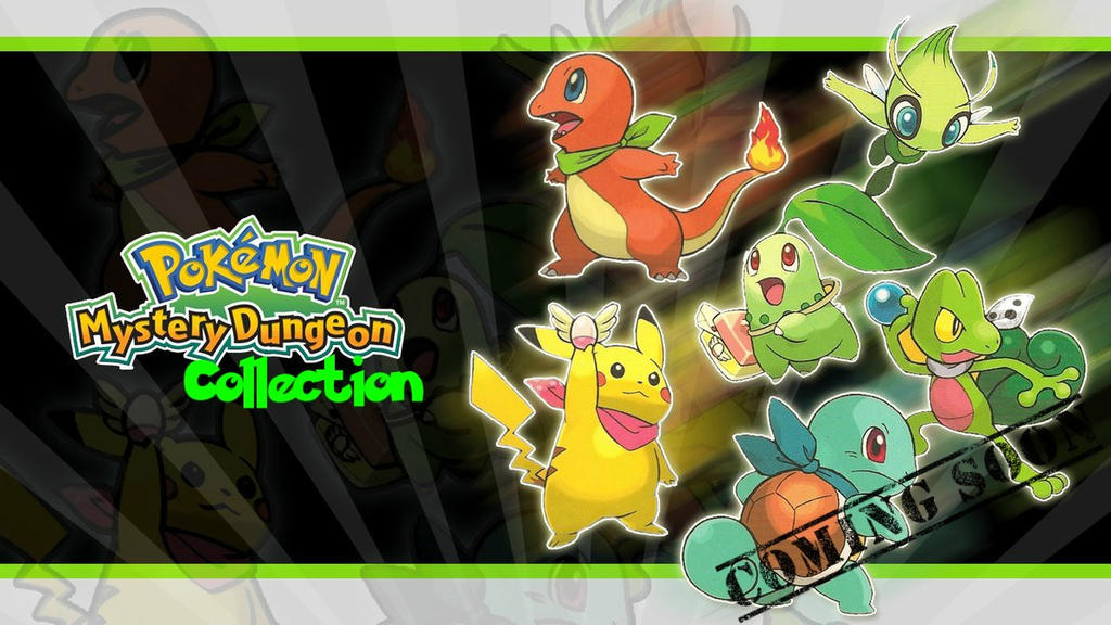 Pokemon Mystery Dungeon Collection [COMING SOON] by MegaMixStudios