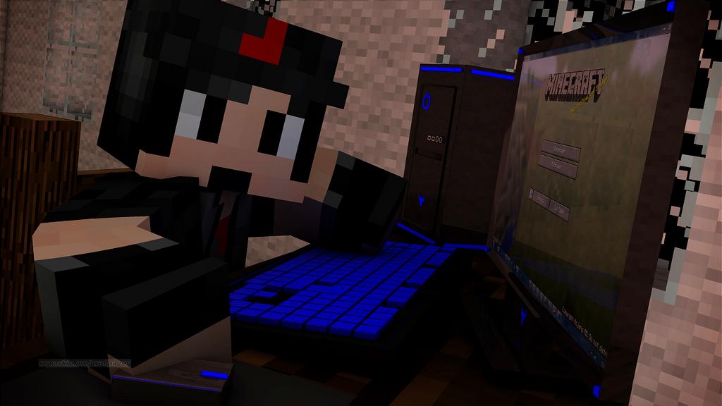 Minecraft Gamer by MegaMixStudios