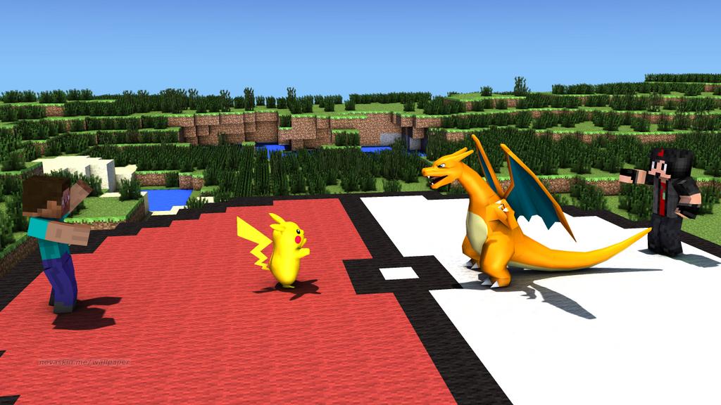 Pokemon Battle! by MarioMinecraftMix