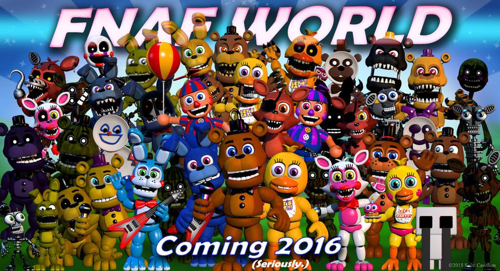 FNAF World CONFIRMED! by MarioMinecraftMix