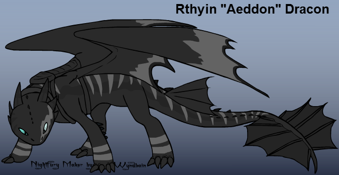 Rthyin 'Aeddon' Dracon : Dragon King by MegaMixStudios