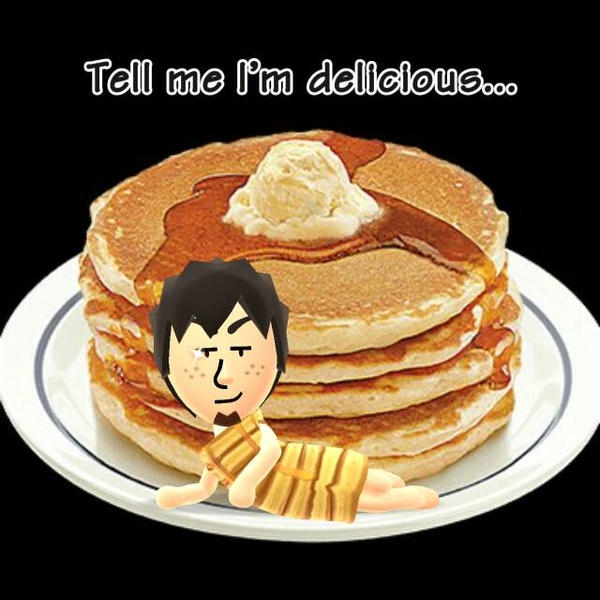 Miifoto #7 - Pancakes? by MarioMinecraftMix