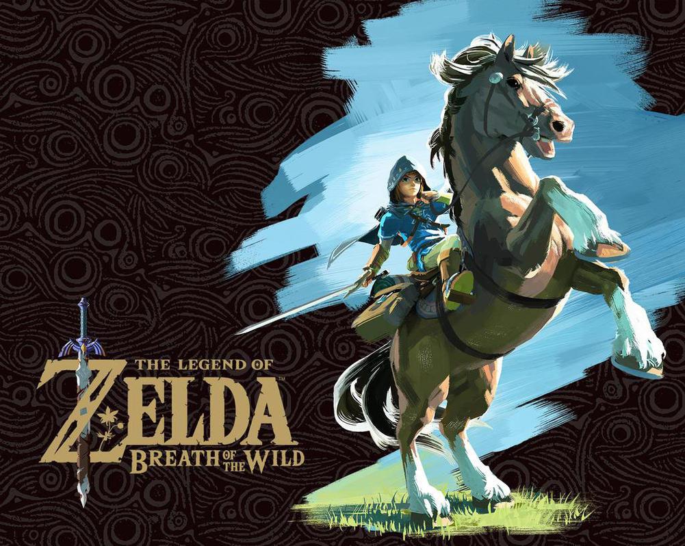 Zelda Wallpaper Breath Of The Wild: The Legend Of Zelda: Breath Of The Wild Wallpaper By