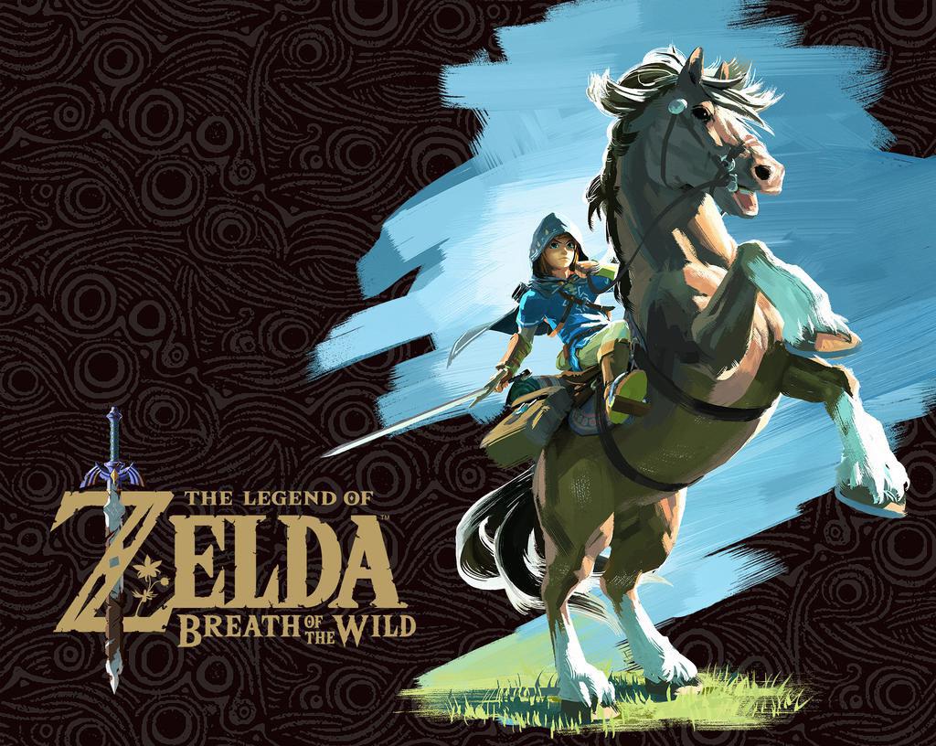 The Legend Of Zelda Breath Of The Wild Wallpaper By Megamixstudios On Deviantart