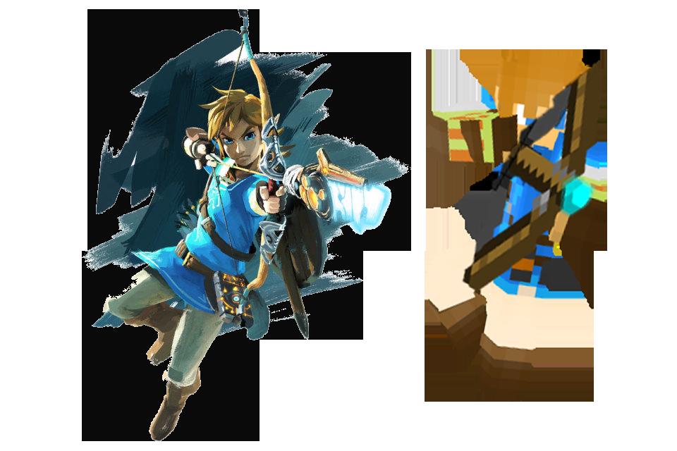 Link - LoZ: Breath of the Wild | Minecraft Skin by MarioMinecraftMix