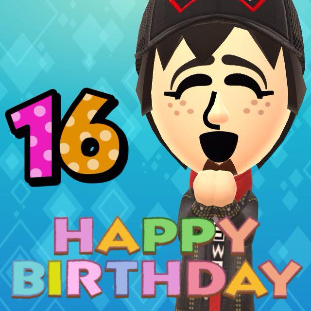 Miifoto #12 - HAPPY BIRTHDAY by MarioMinecraftMix
