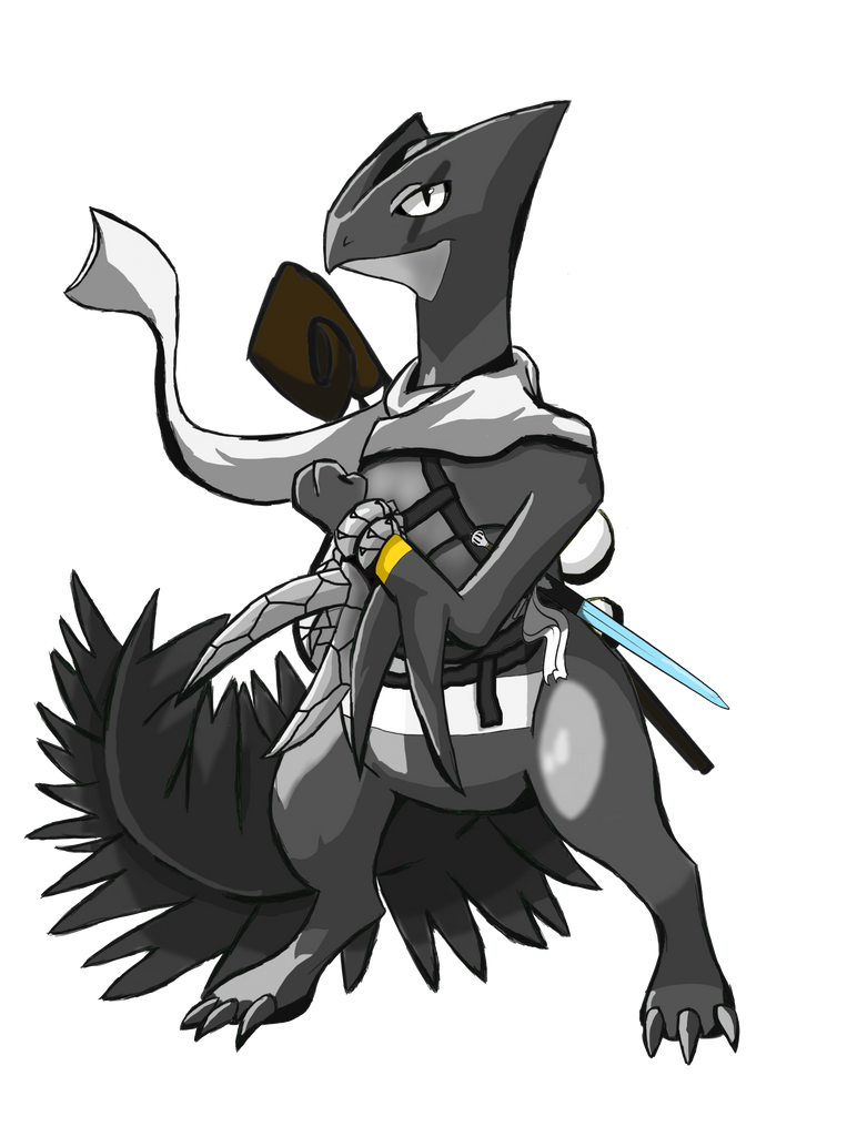 [PMD-UL - NPC] Aeddon - Guild Master by MegaMixStudios