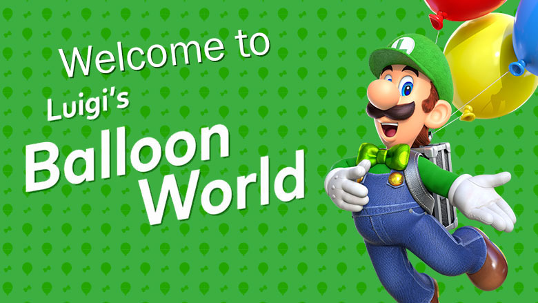 Luigi-balloon-world by MegaMixStudios