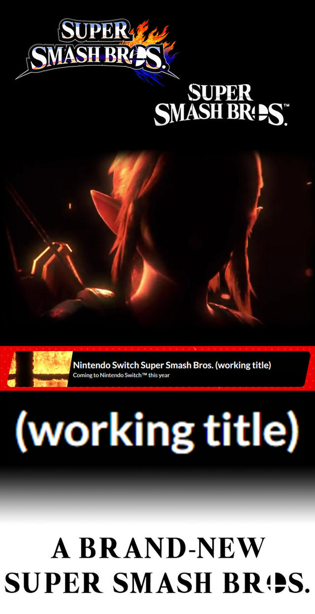 SUPER SMASH BROS. 5 CONFIRMED (Read Description) by MarioMinecraftMix