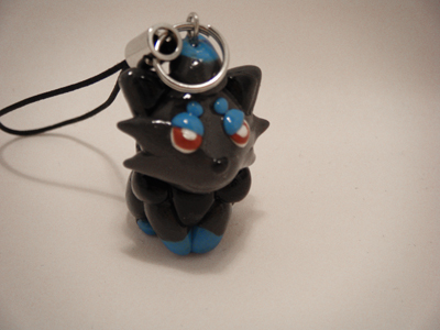 Pokemon Zorua Polymer Clay by CHR0NIE