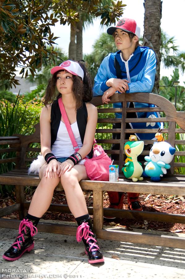 Touko: Pokemon Black and White by CHR0NIE