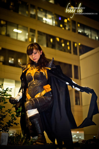 Black Bat: Gotham Night by CHR0NIE