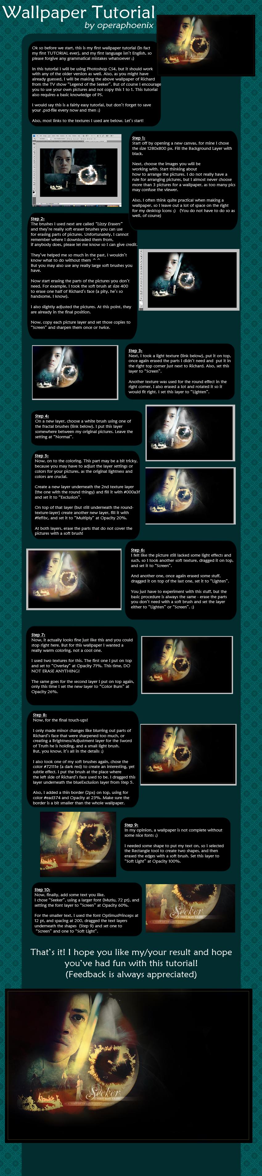 wallpaper tutorial by operaphoenix