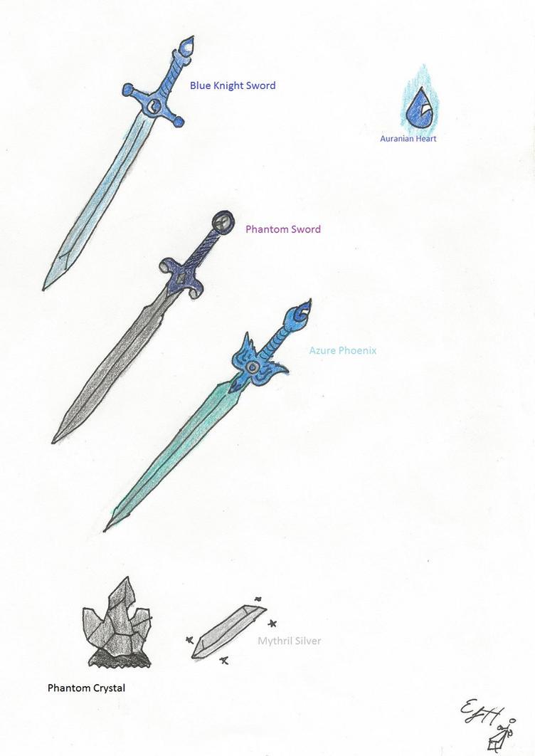 TTOC: Aura's Swords by AuranianTitan