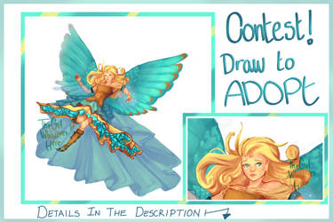 .:CONTEST- ENDED:. DTW - Kingfisher Angel by AdoptablesLiveHere