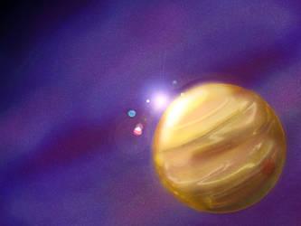 Solar system by mystichuntress