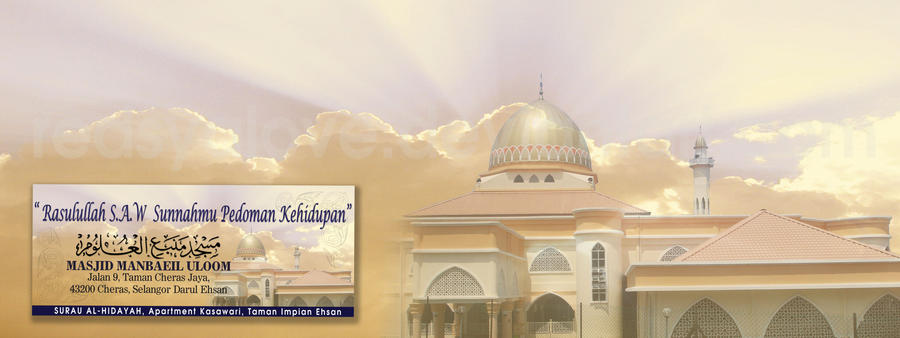 banner maulidur Rasul by redsyalove