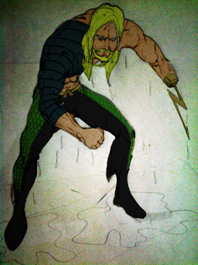 Aquaman! by mairon by maironmatos