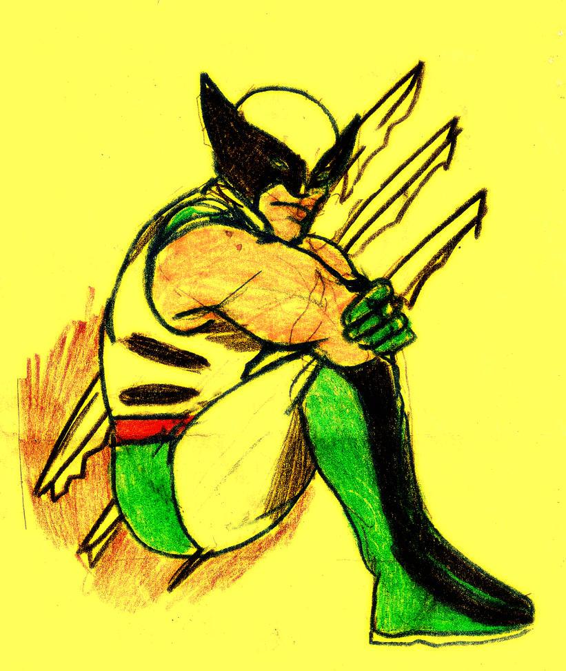 Wolverine-Logan by maironmatos