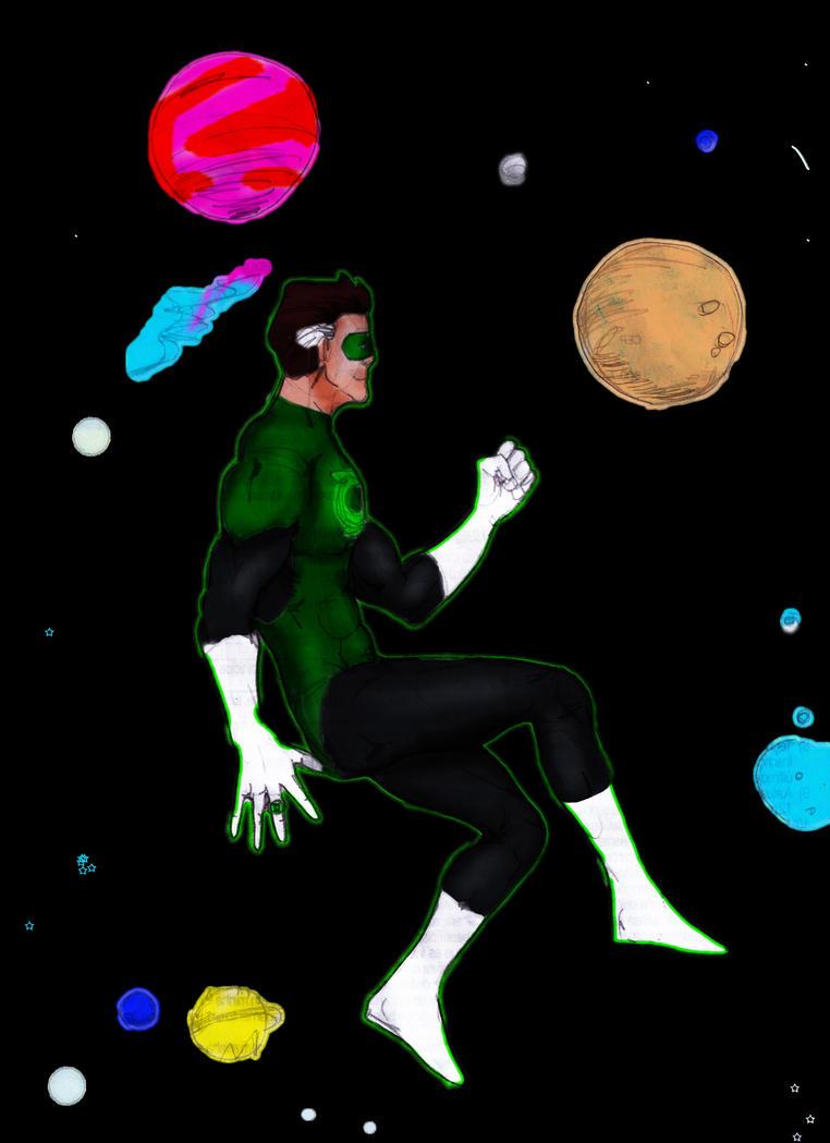 Green Lantern by maironmatos