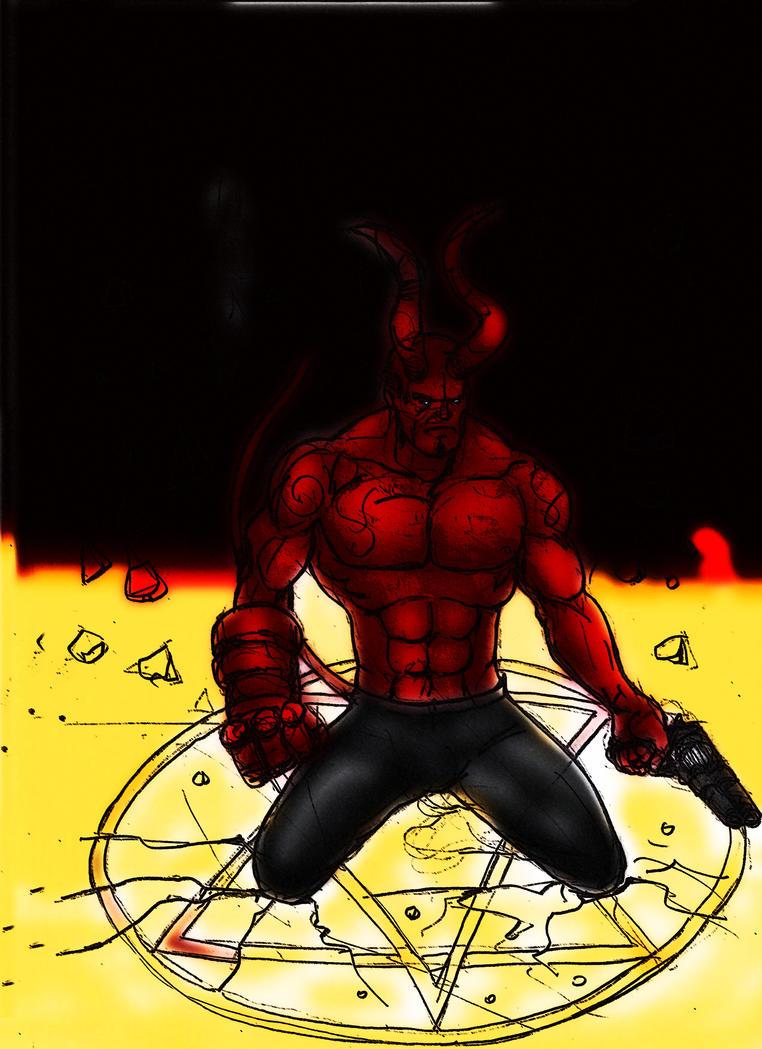 HellboyHB by maironmatos