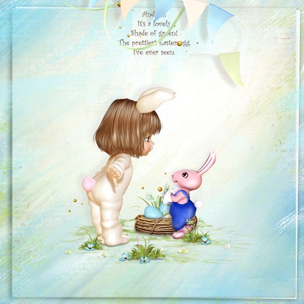 BS29-Happy Easter 7 by BelScrap