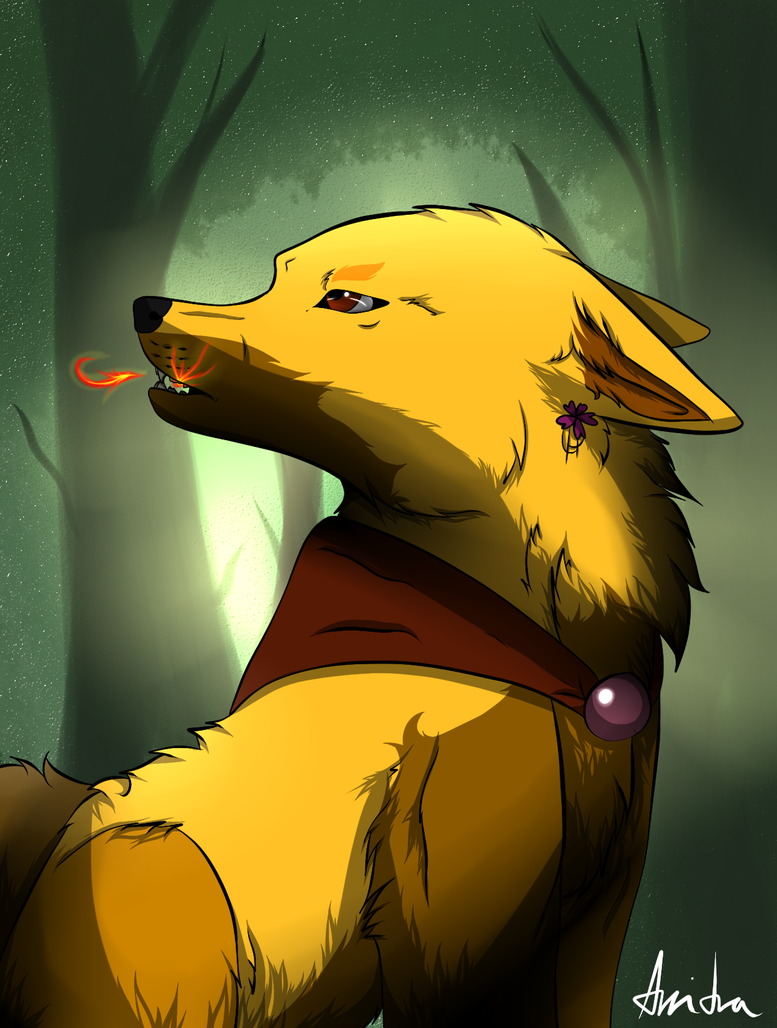 Inside my forest by Arritra