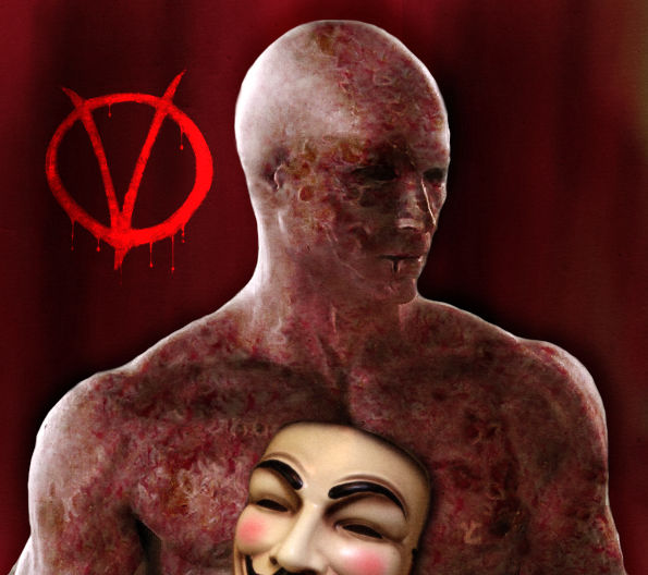 V For Vendetta Behind The Mask By Maddiecristea On Deviantart