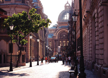 Stavropoleos Street by maddiecristea
