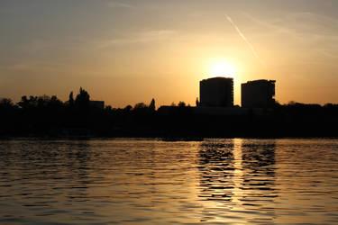 Sunset by maddiecristea