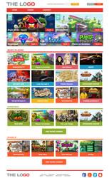 Online Games Website by maddiecristea
