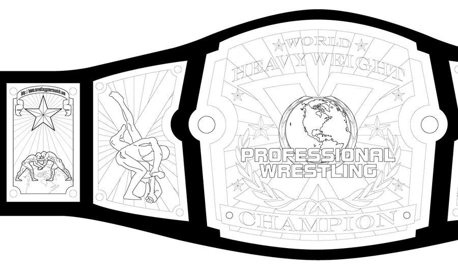 pwx title belt concept by guerrillasuit on deviantart