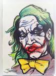 Joker Sketchcard