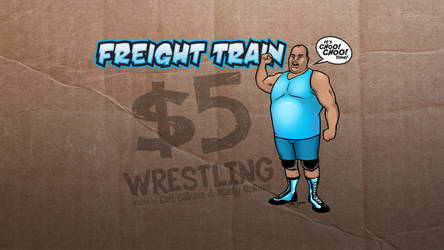 Freight Train the Wallpaper