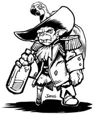 Goblin Pirate from r/characterdrawing