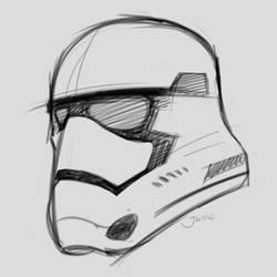Storm Trooper Helmet New