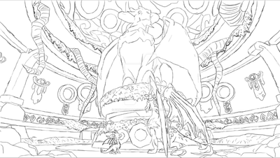Temple WIP by FantasyFanatic365