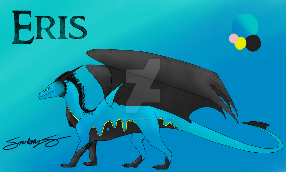 Eris Simple Character Profile by FantasyFanatic365
