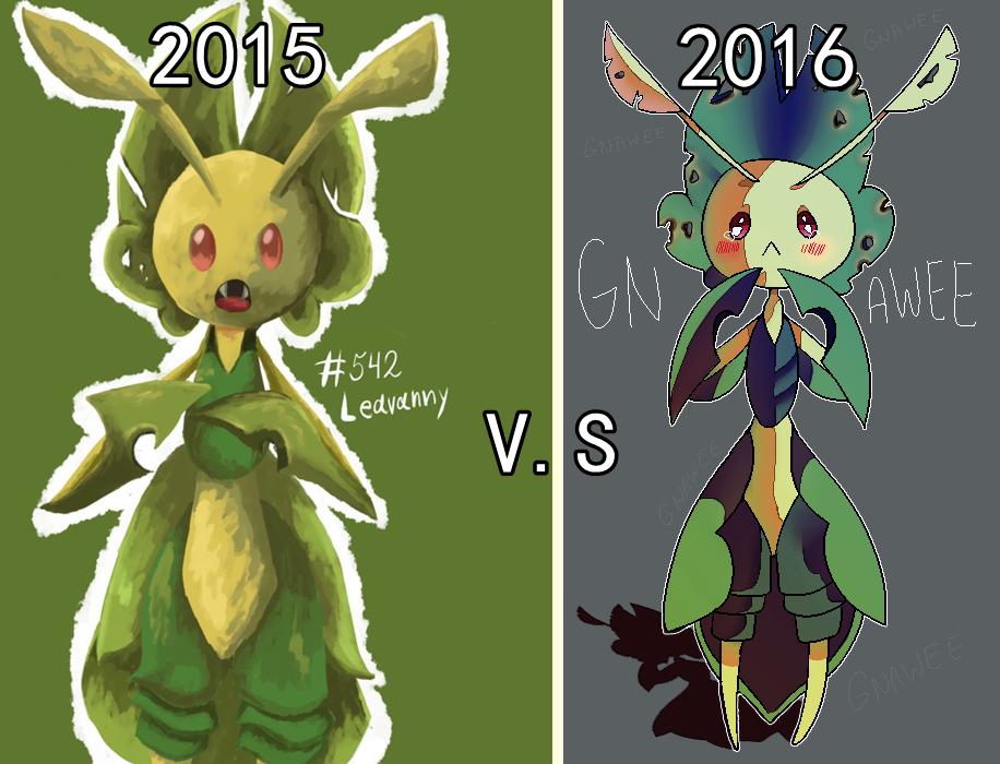 2015 vs 2016 by ShadNoir