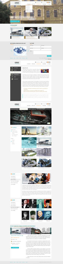 Guner Tasarim Web Design